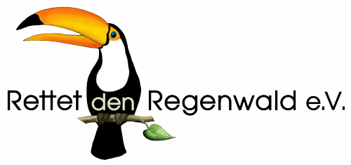 Rettet den Regenwald Logo